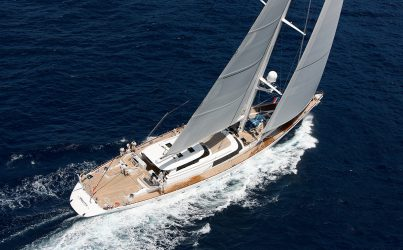 S/Y HYPERION available 25 July – 2 August in Montenegro and Ionian islands!